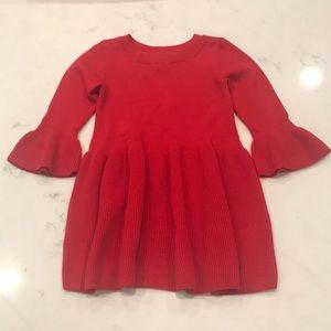 Baby Gap Red sweater dress